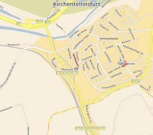 Lageplan Kfurt