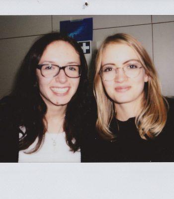 Annika Schaal und Julia Steinhilber