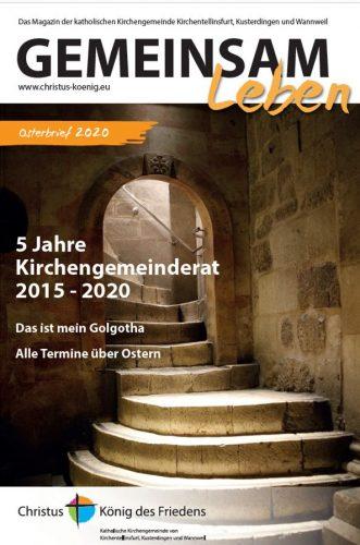 Titelbild Osterbrief 2020